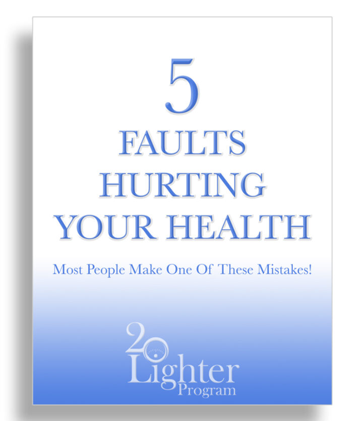 5 Mistakes Hurting Your Health - Free Ebook!