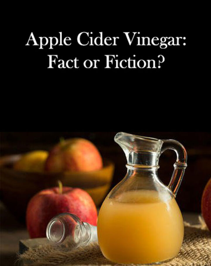 Apple Cider Vinegar Fact or Fiction - Free Ebook!