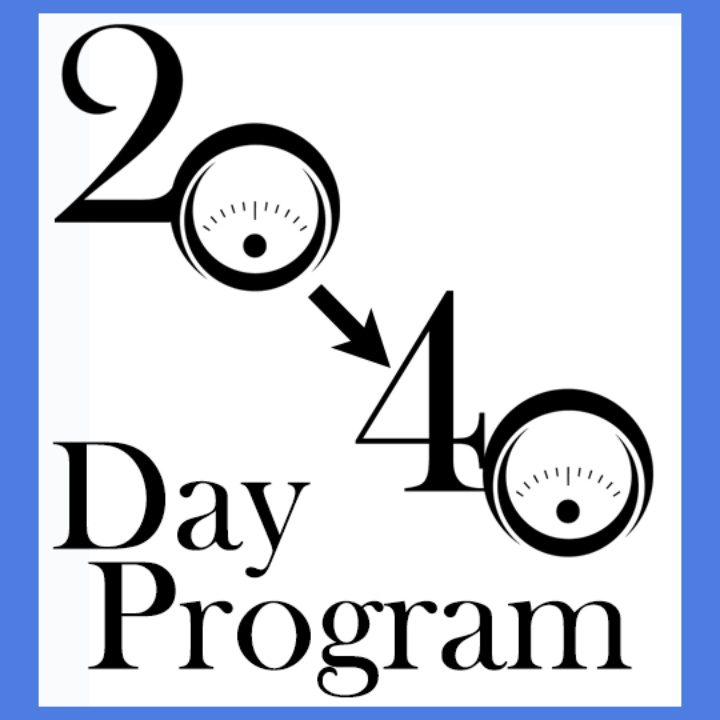 Move from 20Day to 40Day Program